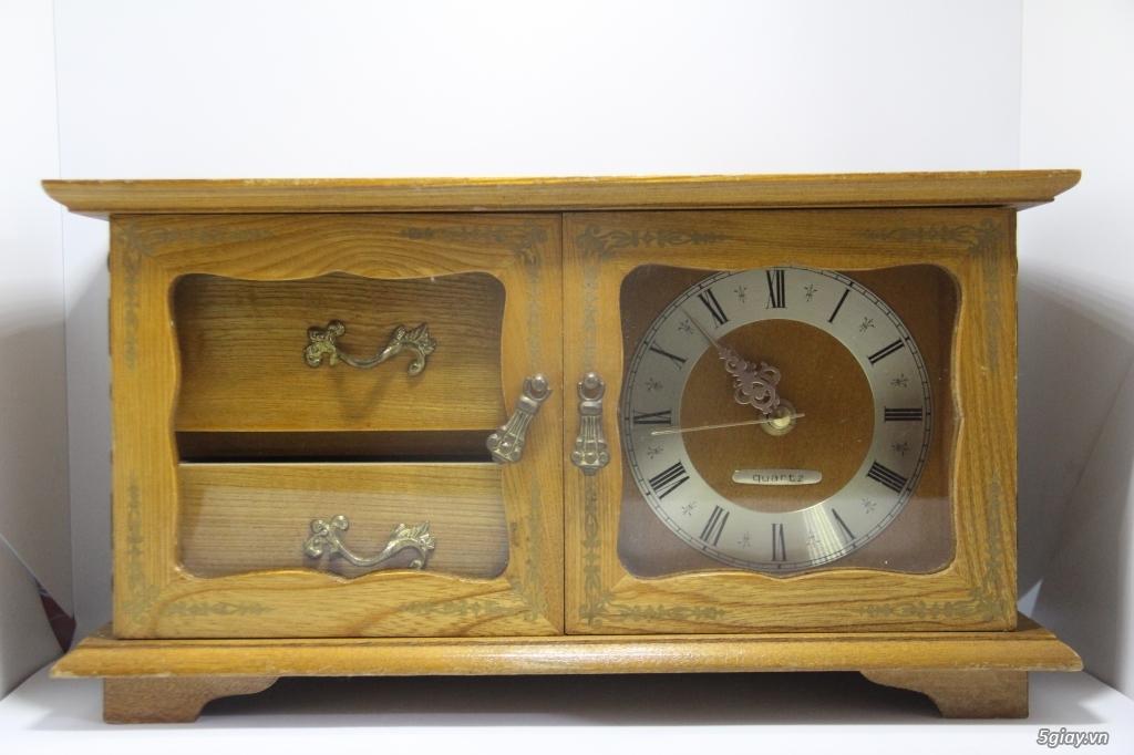 Đồng hồ để bàn hàng Nhật second hand - 18