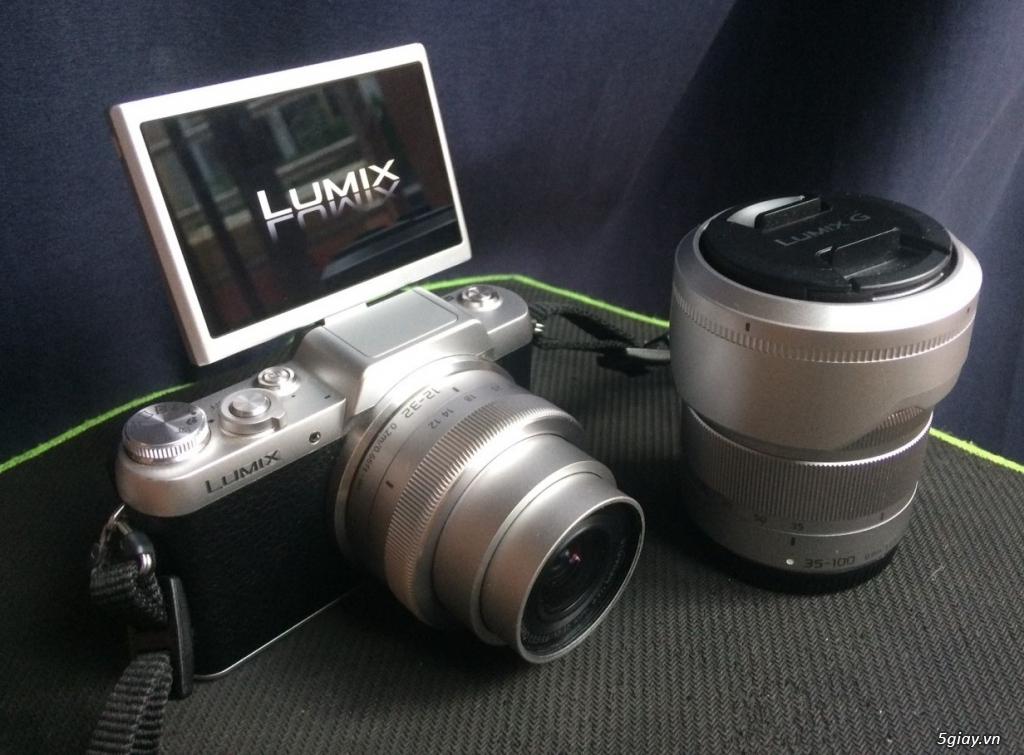 Panasonic Lumix GF7 Mirrorless + Kit 12-32mm bonus lens Tele 35-100mm - 3