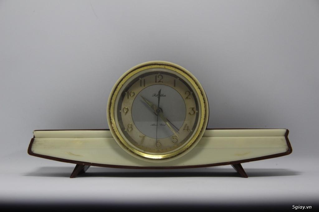Đồng hồ để bàn hàng Nhật second hand - 10