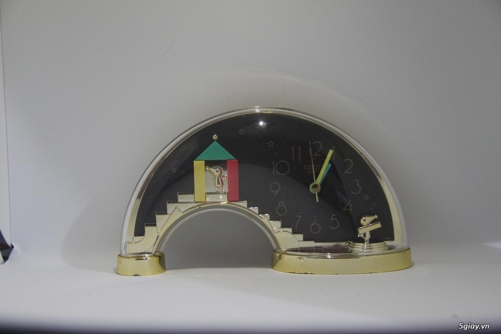 Đồng hồ để bàn hàng Nhật second hand - 3