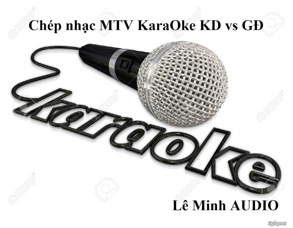 Dịch vụ chép nhạc KaraOke MTV - 5