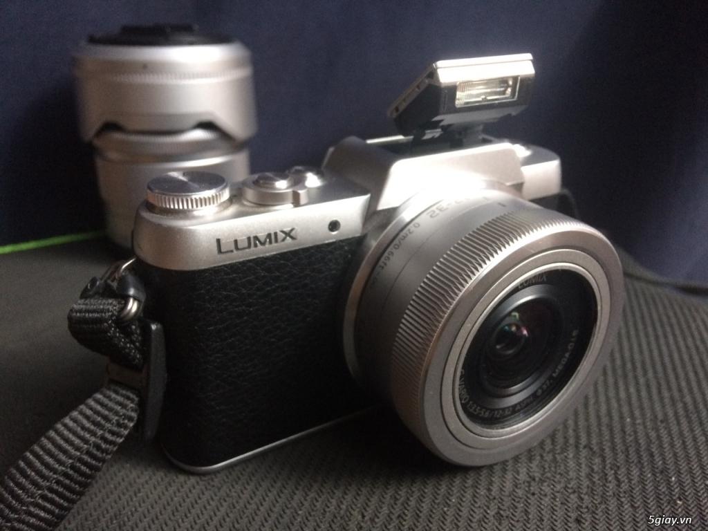 Panasonic Lumix GF7 Mirrorless + Kit 12-32mm bonus lens Tele 35-100mm - 5