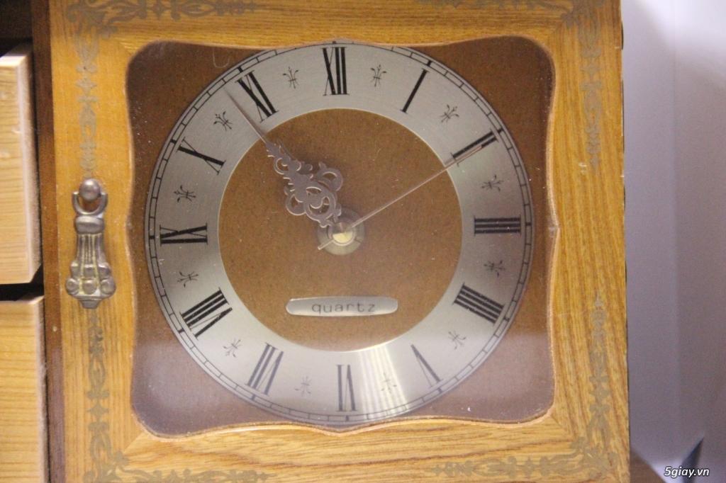 Đồng hồ để bàn hàng Nhật second hand - 20