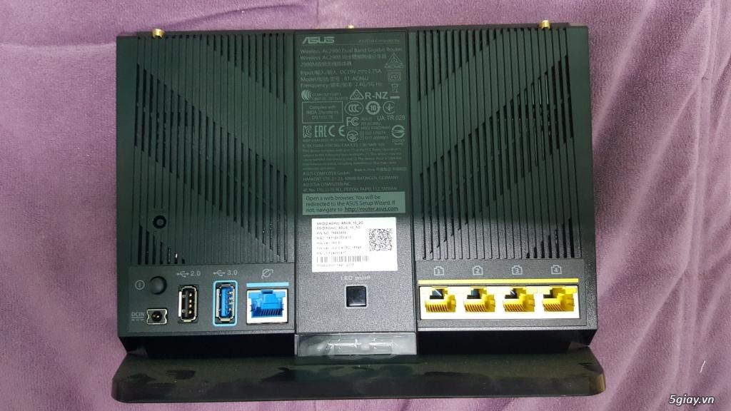 Cần bán router chuyên game Asus RT-AC86U (còn bảo hành 2.5 năm)