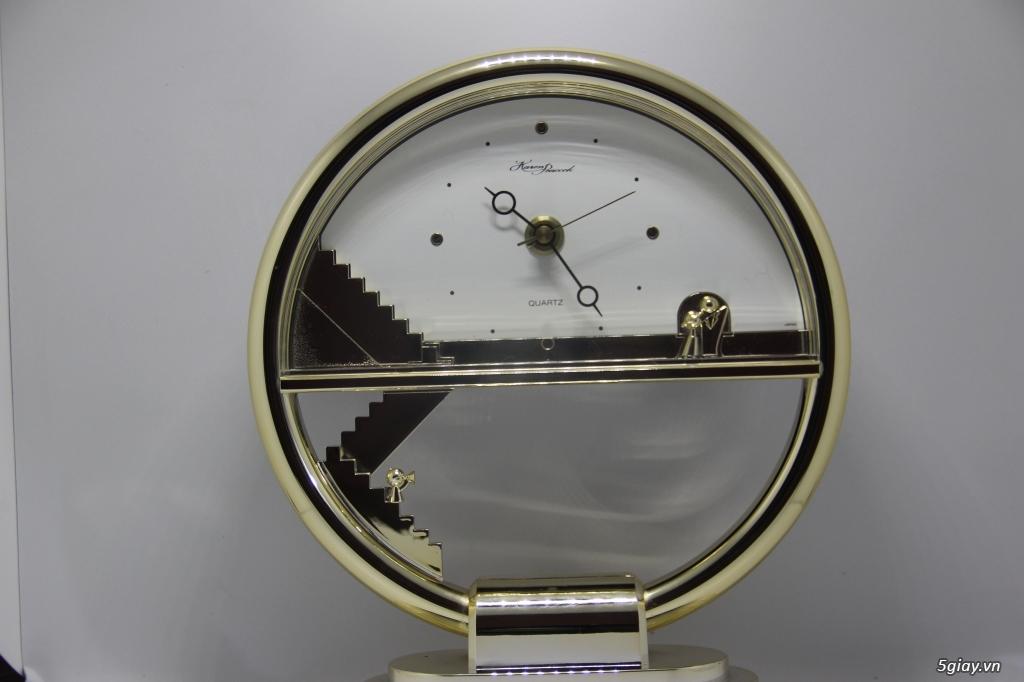 Đồng hồ để bàn hàng Nhật second hand - 9