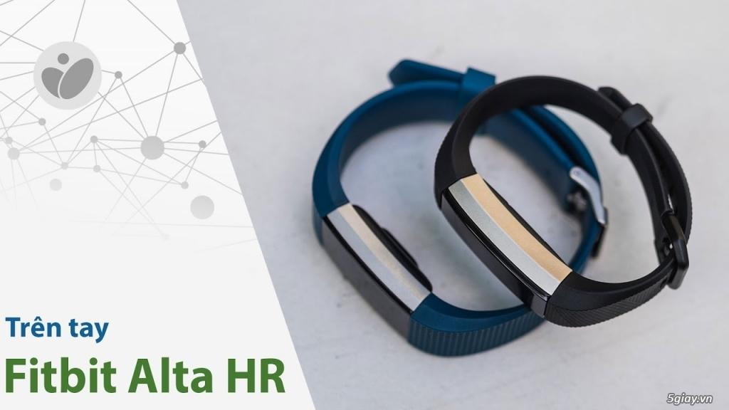 cần Bán vòng đeo theo dõi sức khỏe -Fitbit Alta HR( FPT): 3.550.000đ - 6