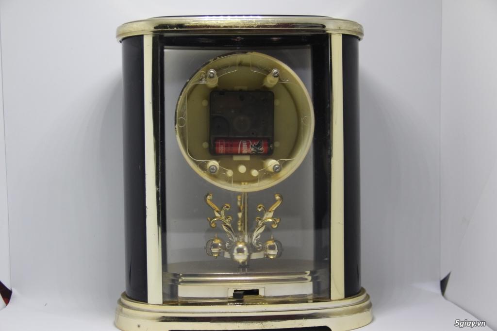 Đồng hồ để bàn hàng Nhật second hand - 14