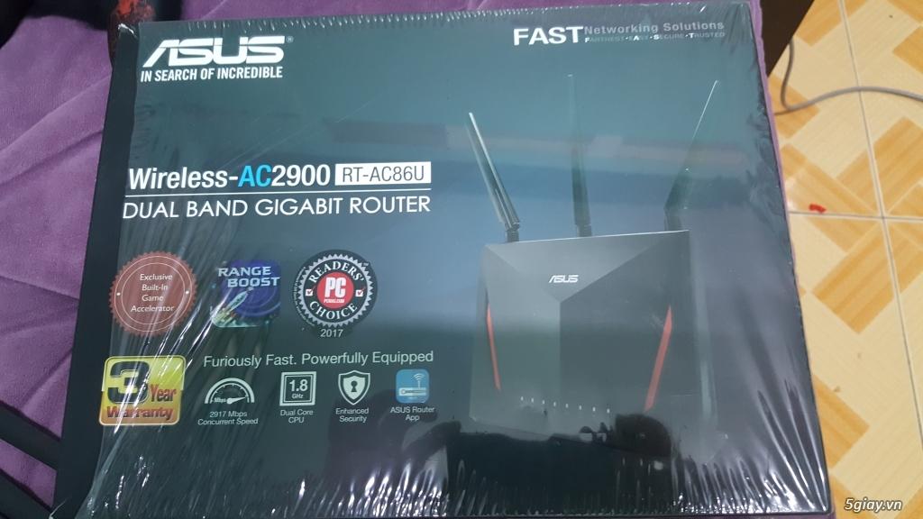 Cần bán router chuyên game Asus RT-AC86U (còn bảo hành 2.5 năm) - 3