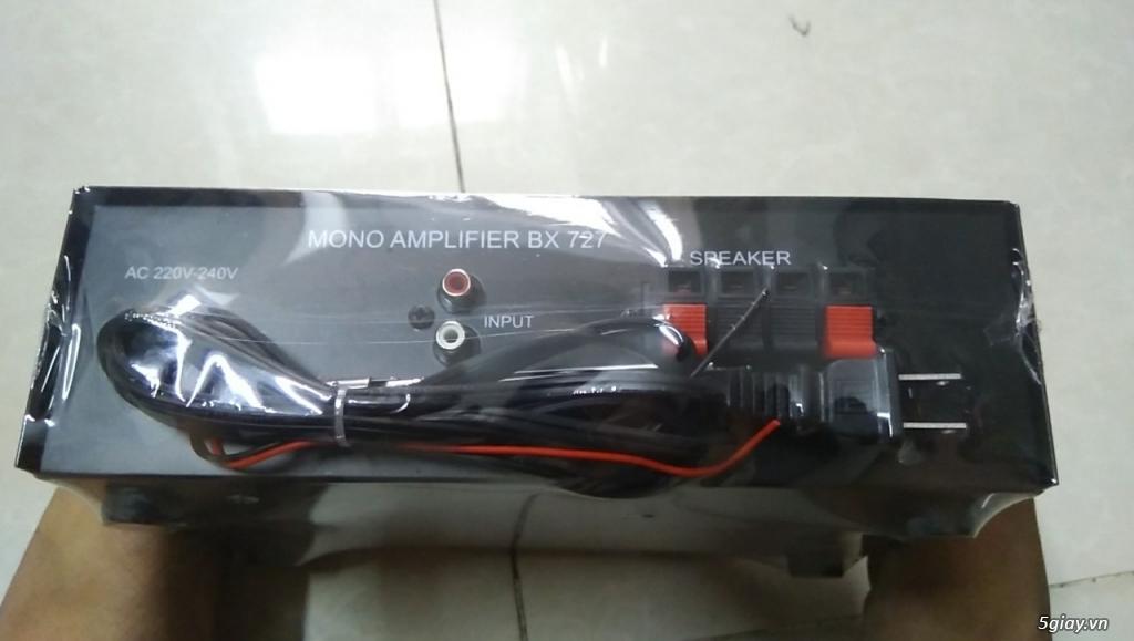 Ampli mini CALIFLOWER BX727, điện 220VAC/12VDC