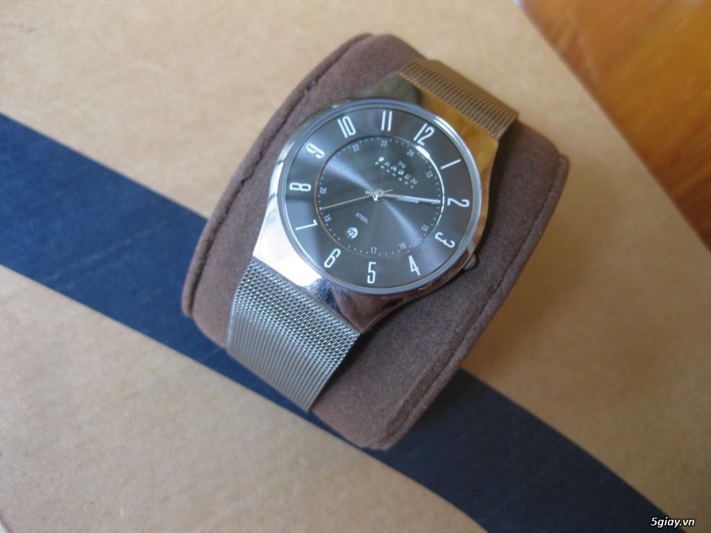 Đồng hồ chính hãng của Mỹ dư xài máy pin Quazt , máy tự động Automatic - 14