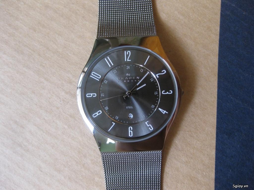 Đồng hồ chính hãng của Mỹ dư xài máy pin Quazt , máy tự động Automatic - 17