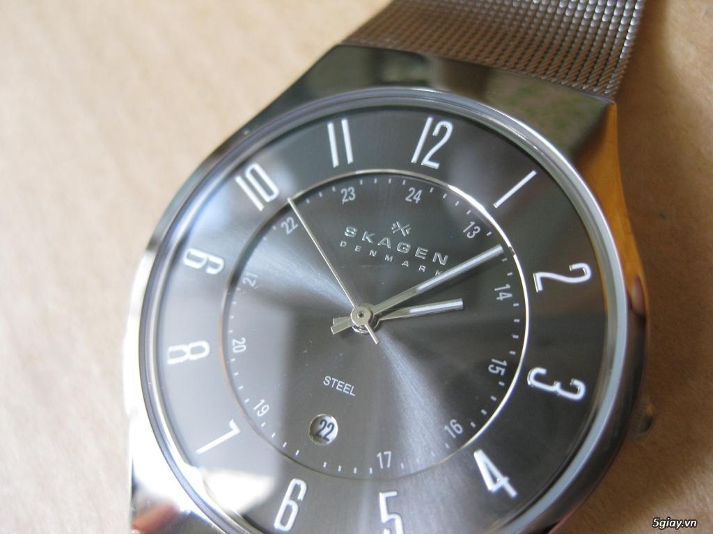 Đồng hồ chính hãng của Mỹ dư xài máy pin Quazt , máy tự động Automatic - 13