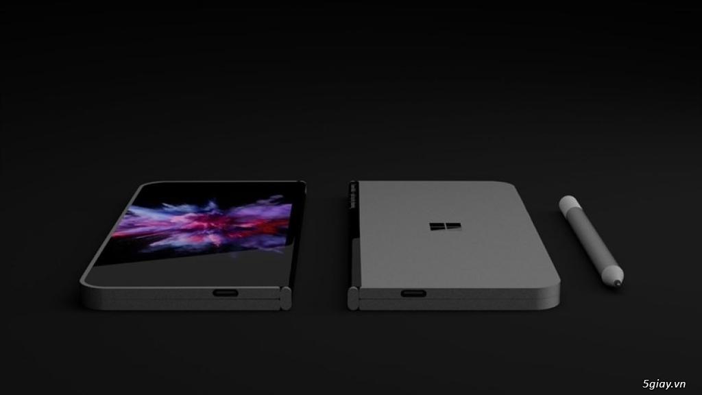 Surface Phone của Microsoft có thể gập lại theo 5 chế độ