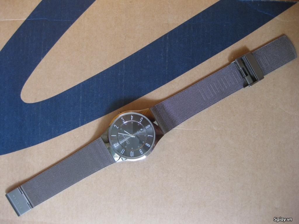 Đồng hồ chính hãng của Mỹ dư xài máy pin Quazt , máy tự động Automatic - 19