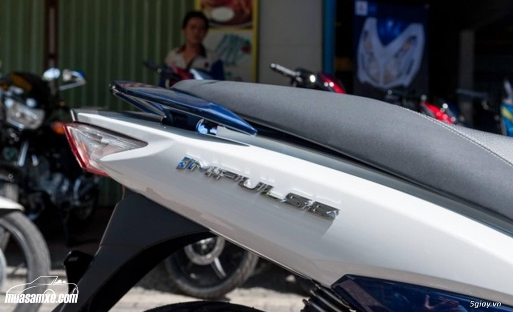 Đánh giá ưu nhược điểm Suzuki Impulse 2017 - 2