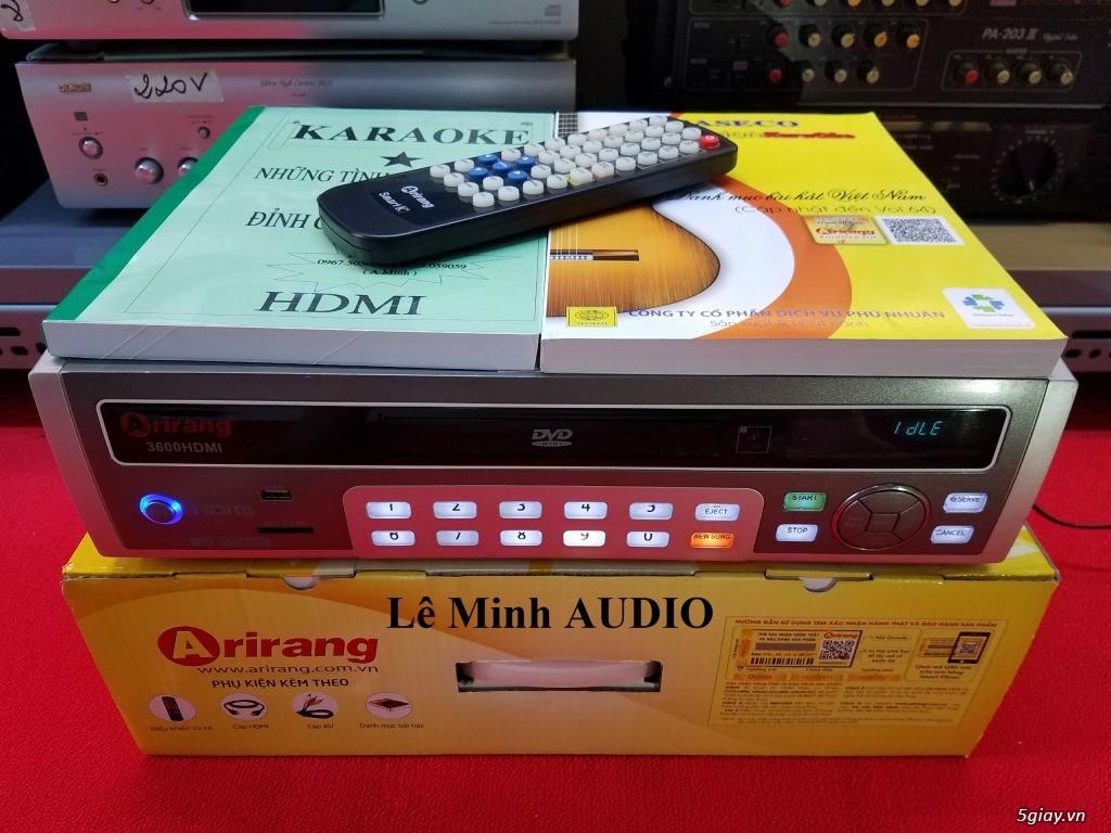 Đầu KaraOke Arirang 3600 Deluxe A - SmartK - 3600 HDMI - AR3600 - AR3600S - 4