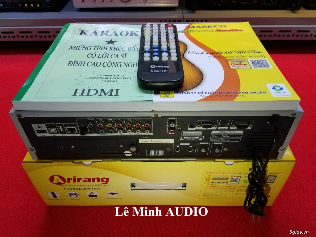 Đầu KaraOke Arirang 3600 Deluxe A - SmartK - 3600 HDMI - AR3600 - AR3600S - 5