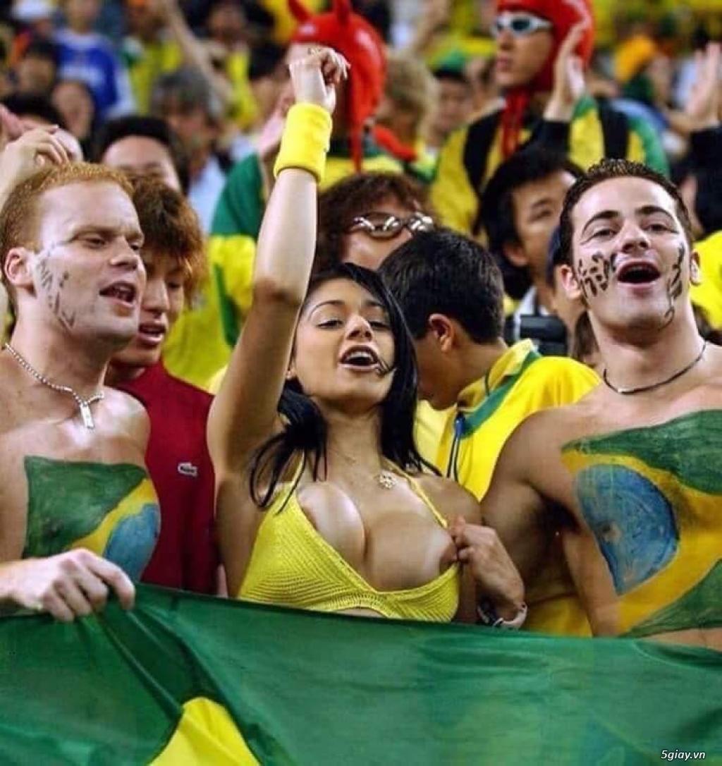 Năm nay Brazil vô địch chắc luôn rồi