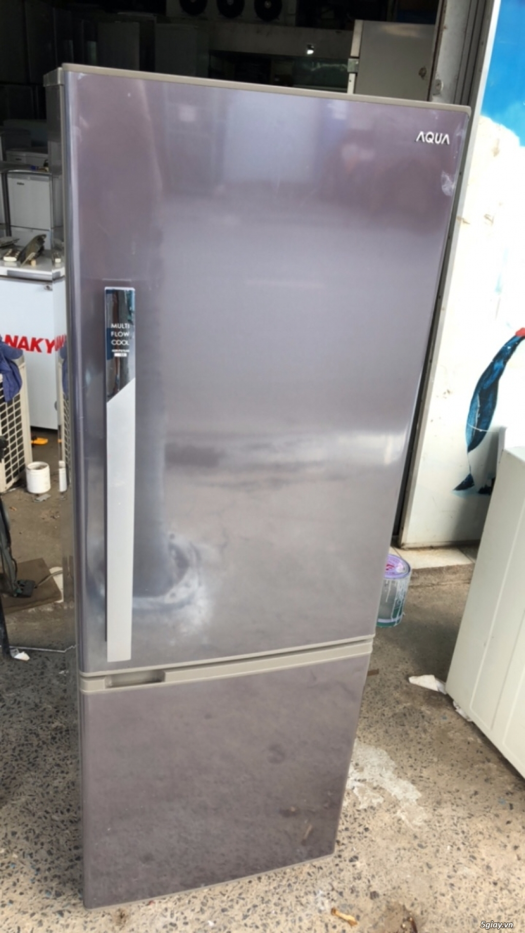 Thanh lý tủ lạnh cũ Aqua 244l, mới 94%, bao test - 1
