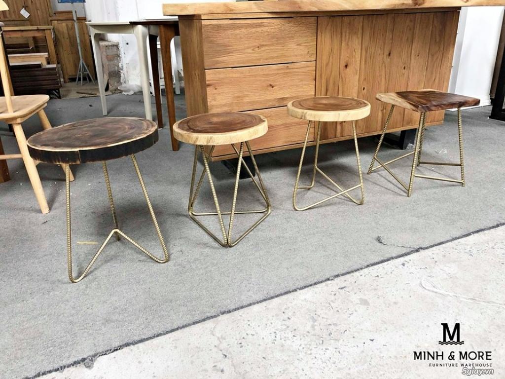 Ghế đẩu cafe - hàng mới có tại MM