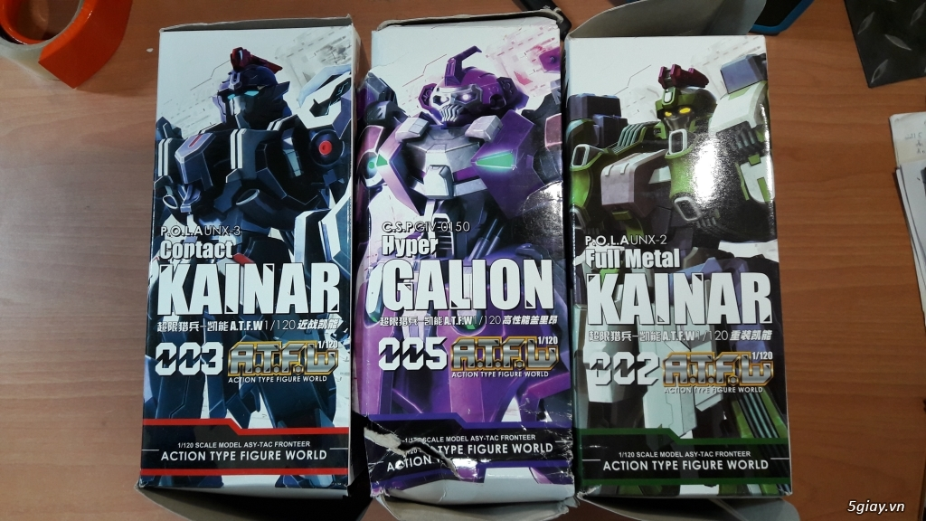Mô hình Gundam ( Daban, TT hongli, DevilArts...) - 3
