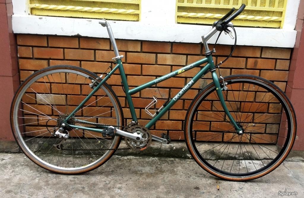 Xe đạp Decathlon cổ điển săn lùng từ France