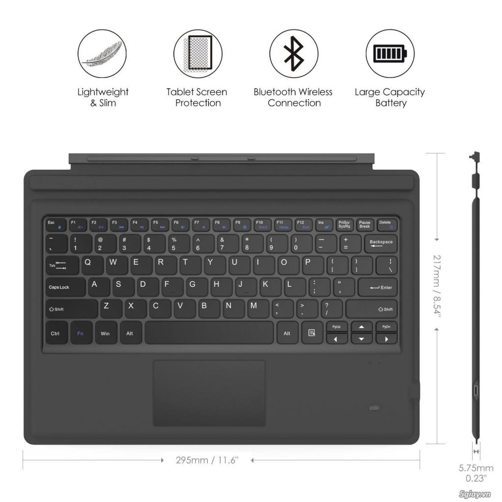 Microsoft Surface Pro 3 & Pro 4 & Pro 2017 không nhận bàn phím - 1