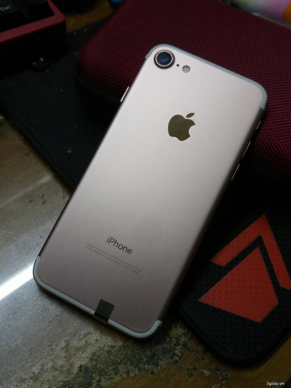 Iphone 7 hồng 32G lock Mỹ - 1