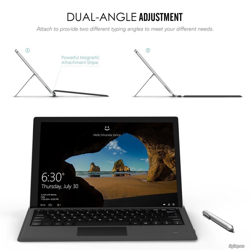 Microsoft Surface Pro 3 & Pro 4 & Pro 2017 không nhận bàn phím - 2