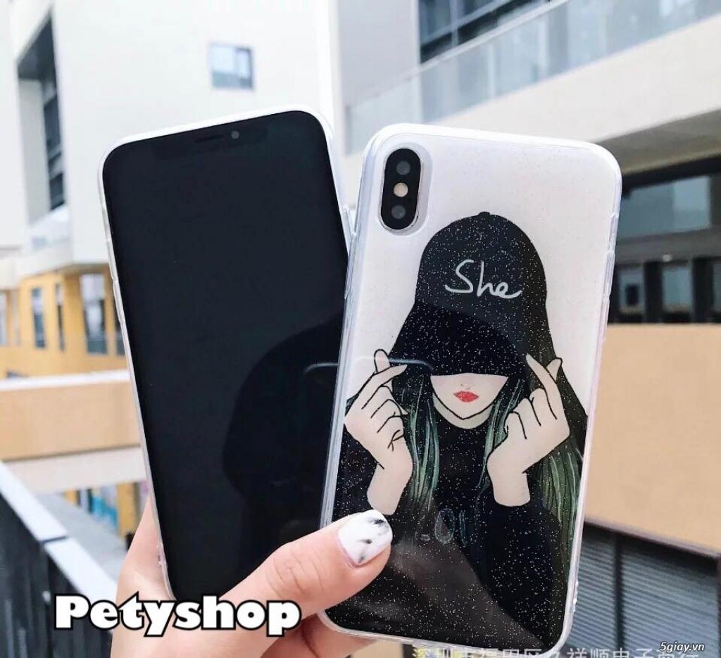 Ốp lưng iPhone 6 6S 6Plus 6SPlus 7 8 7Plus 8Plus X độc lạ dễ thương