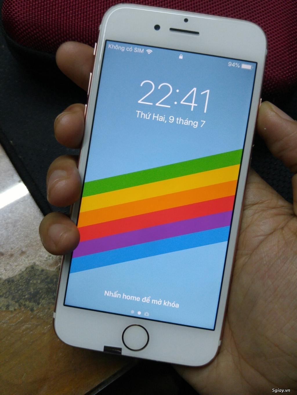 Iphone 7 hồng 32G lock Mỹ