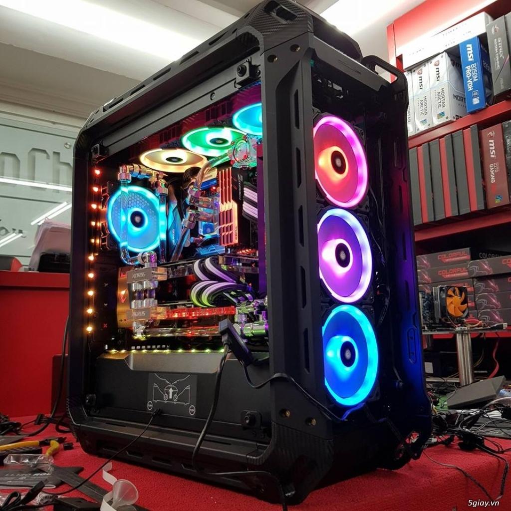 Bộ máy tính bàn i5 card GTX1050 ram 8G bh 1 năm - 3