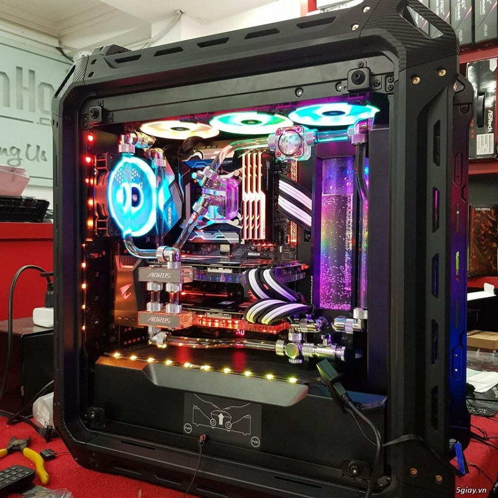 Bộ máy tính bàn i5 card GTX1050 ram 8G bh 1 năm - 1
