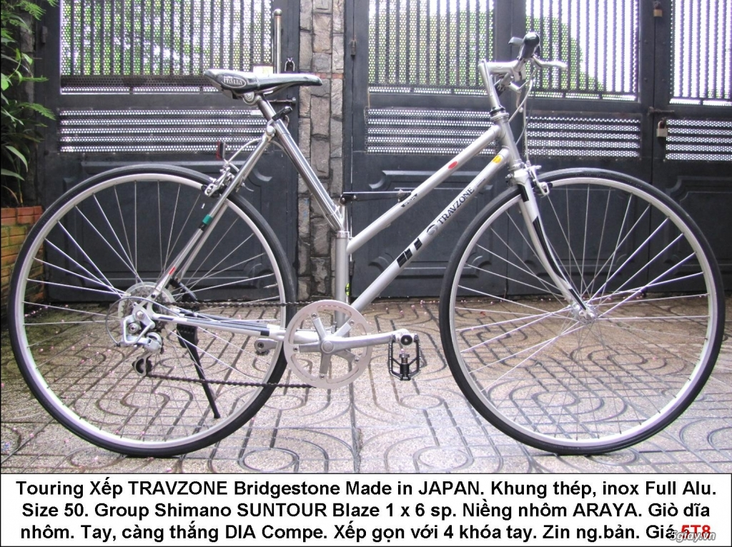 Xe đap TT Road Touring MTB hàng bãi Nhật - 6