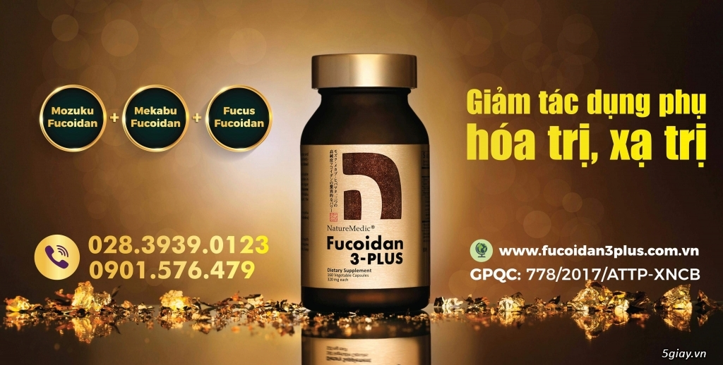 Fucoidan 3-plus