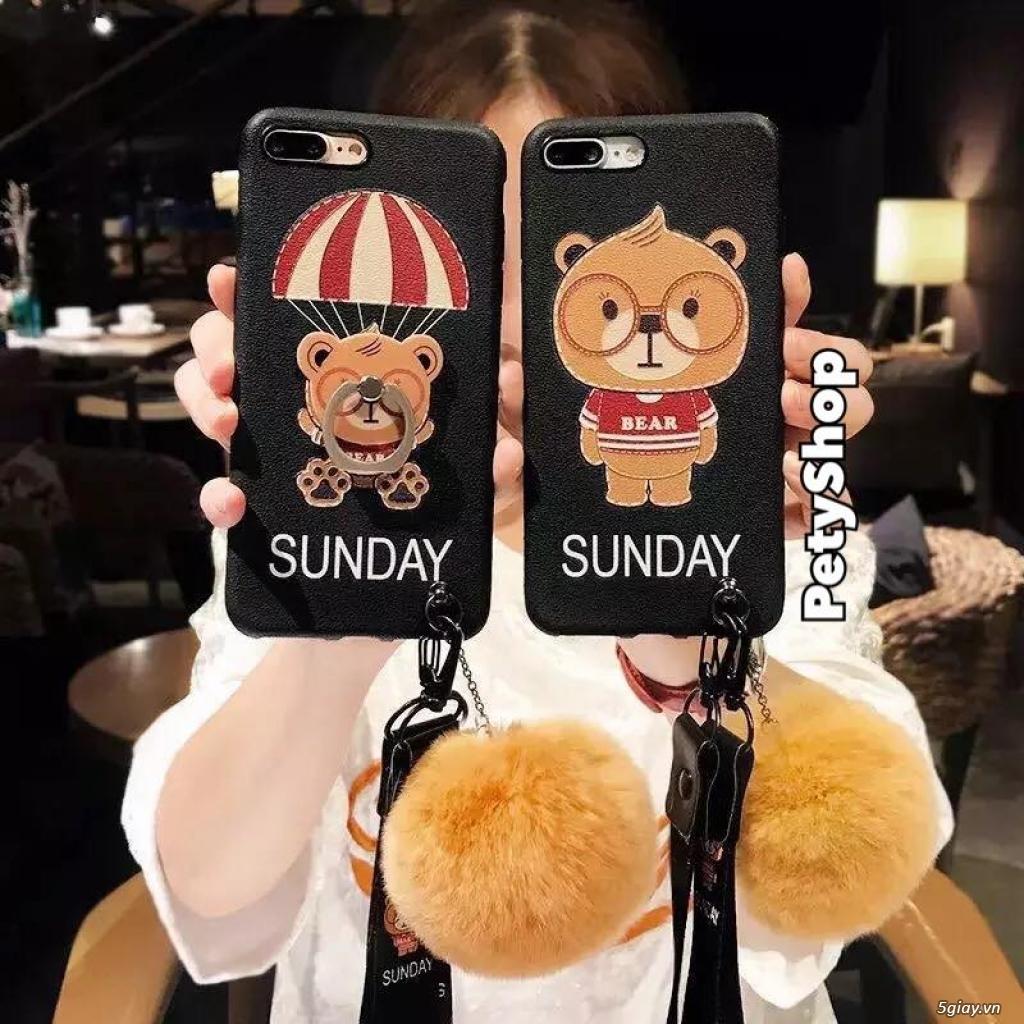 Ốp lưng iPhone 6 6S 6Plus 6SPlus 7 8 7Plus 8Plus X độc lạ dễ thương - 33