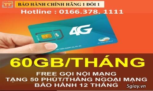 Sim 4G Viettel V90 - KM 60Gb/Tháng Và Gọi Miễn Phí -Lh:  0166 378 1111