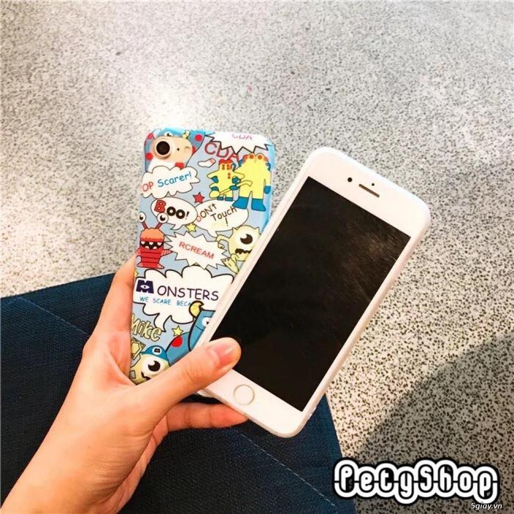Ốp lưng iPhone 6 6S 6Plus 6SPlus 7 8 7Plus 8Plus X độc lạ dễ thương - 41