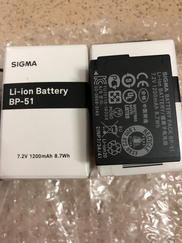 [HCM/TQ] Pin zin Sigma BP-51 new 100% cho Leica Q và Sigma dp Quattro - 3