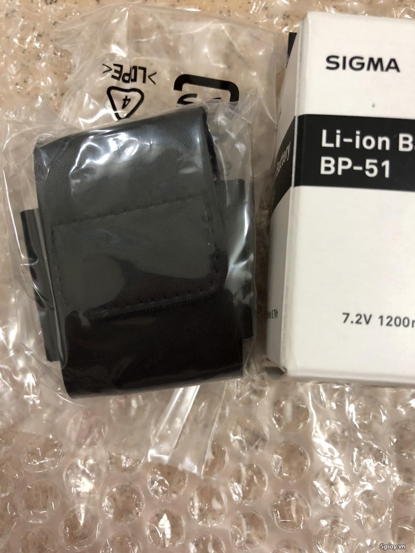 [HCM/TQ] Pin zin Sigma BP-51 new 100% cho Leica Q và Sigma dp Quattro - 4
