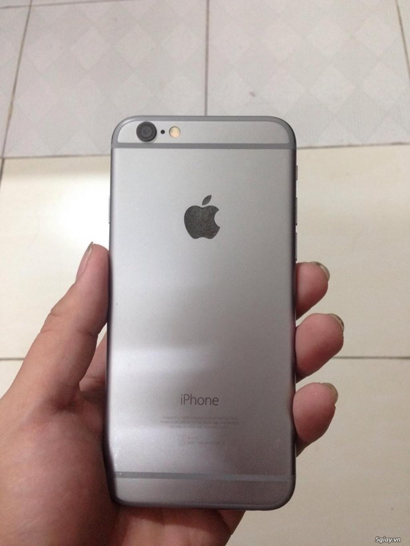 Cần bán Iphone 6 silver 64GB nữ xài kỹ