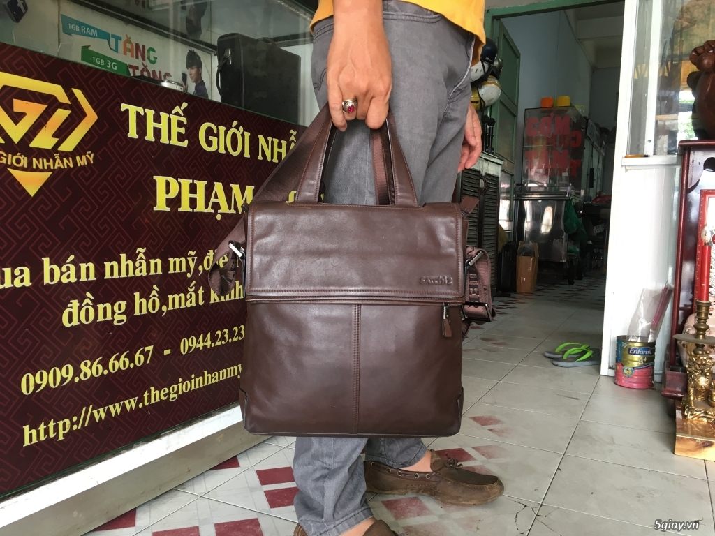 Topic túi cặp da nam, nhiều kiểu đa dạng - 22