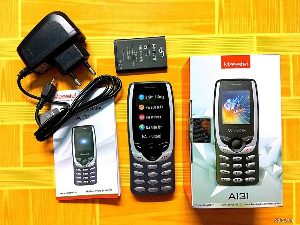 Masstel A131 hàng công ty Mới100% Fullbox, BH 12T siêu rẻ.Có giao tới - 5
