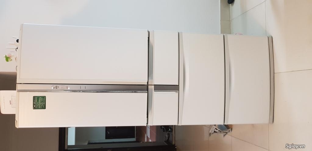 CN cần thanh lý gấp Tủ lạnh nội địa nhật 520lit, 6 cánh, còn mới - 1