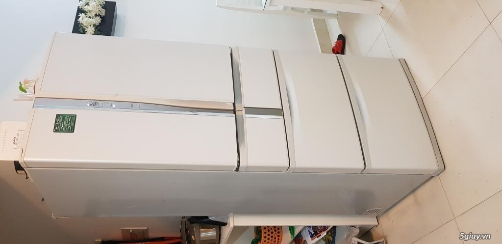 CN cần thanh lý gấp Tủ lạnh nội địa nhật 520lit, 6 cánh, còn mới - 2