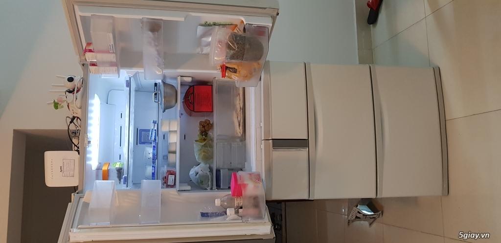 CN cần thanh lý gấp Tủ lạnh nội địa nhật 520lit, 6 cánh, còn mới - 4