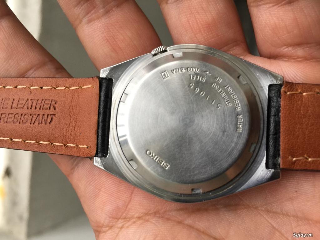 Đồng hồ Seiko nam chính hãng nguyên zin - 3