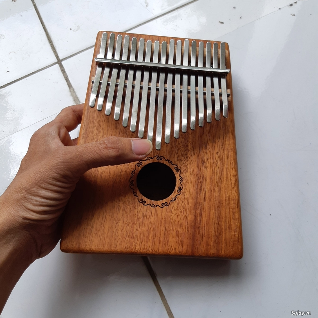 Đàn Kalimba 17 phím gỗ Mahogany - 2