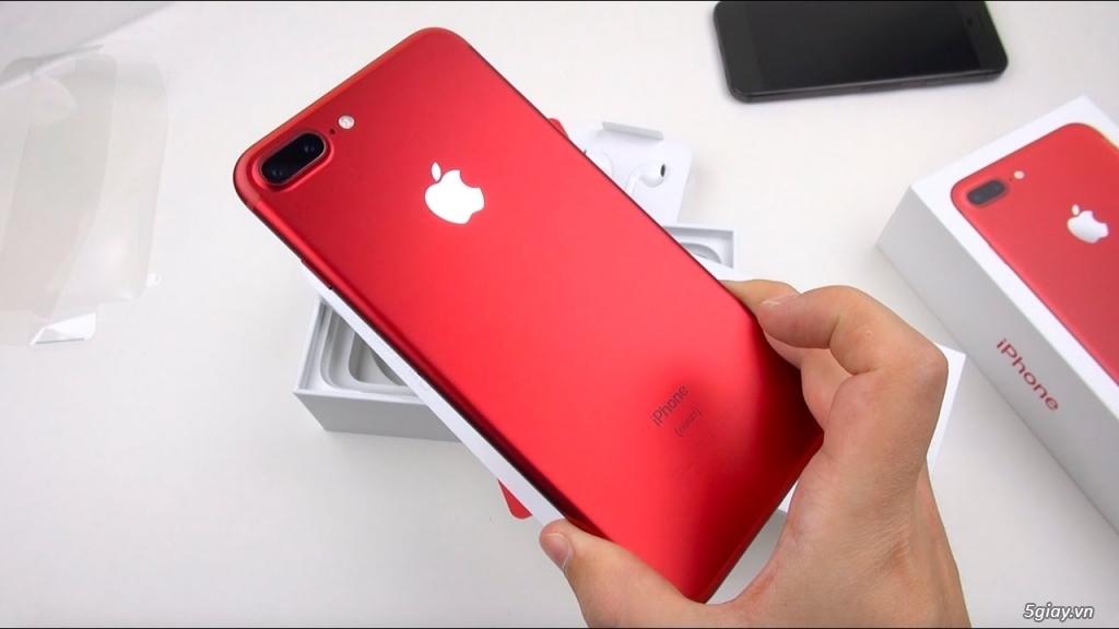 iPhone 7 Plus 128Gb Đỏ Quốc Tế, Bảo hành 11 tháng, 99%, chưa sửa chữa - 1