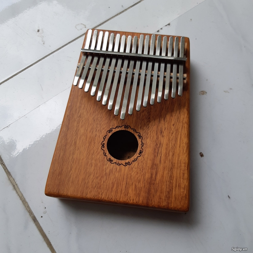Đàn Kalimba 17 phím gỗ Mahogany - 1